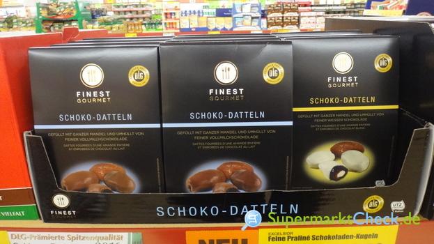 Foto von Finest Gourmet Schoko Datteln
