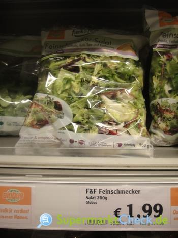 Foto von Globus Frisch & Fertig Feinschmecker Salat