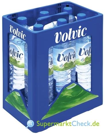 Foto von Volvic Mineralwasser 6-er