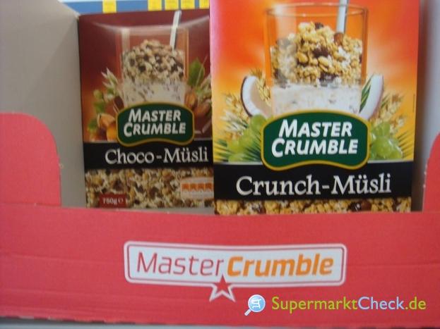 Foto von Master Crumble Choco-Müsli