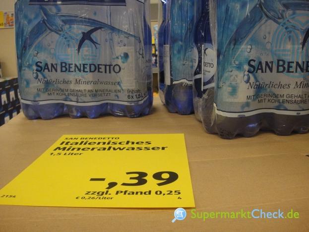 Foto von San Benedetto / Aldi Süd italienisches Mineralwasser