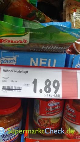 Foto von Knorr Hühner Nudeltopf mit Speck