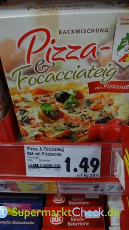 Foto von Frießinger Pizza & Focacciateig Backmischung