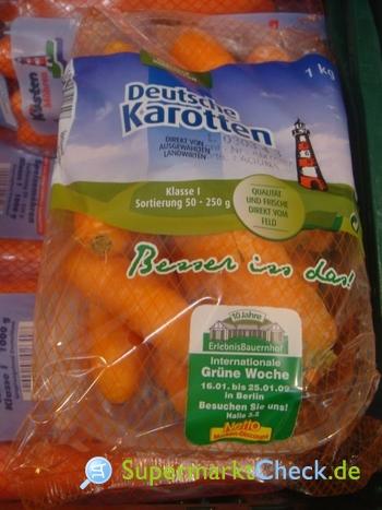 Foto von Karotten