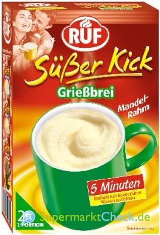 Foto von Ruf Süßer Kick Grießbrei