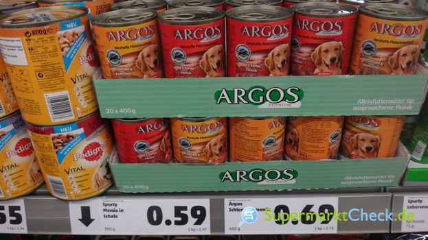 Foto von Argos Premium Schlemmermenüs