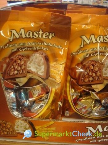 Foto von Master Pralinen aus Milchschokolade