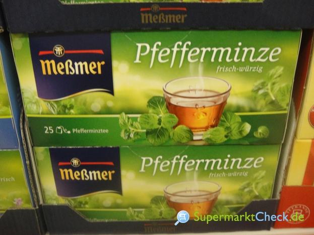 Foto von Meßmer Pfefferminze Tee