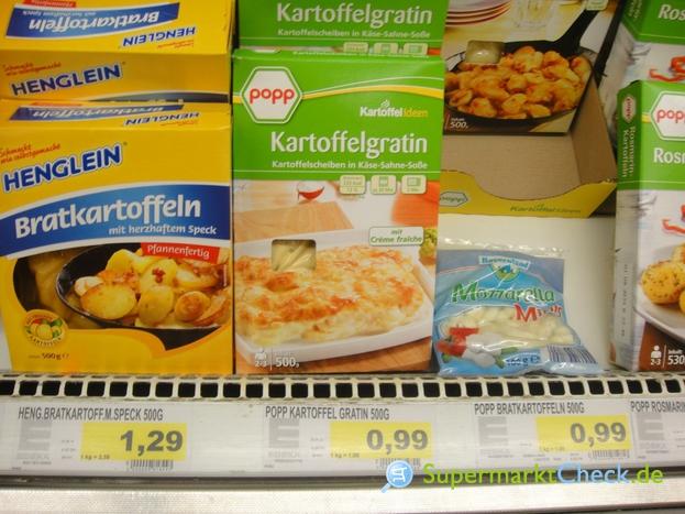 Foto von Popp Feinkost Kartoffelgratin