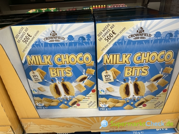 Foto von Crownfield Milk Choco Bits