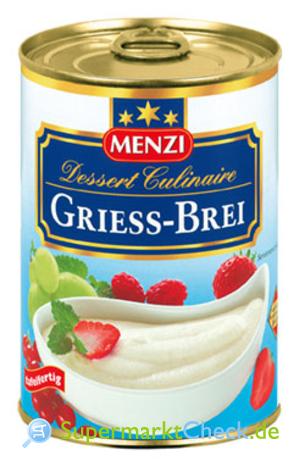 Foto von Menzi Dessert Culinaire Griess-Brei