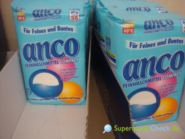 Foto von Anco Feinwaschmittel Compact