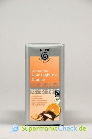 Foto von Gepa Premium Bio Zartbitterschokolade