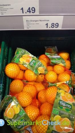 Foto von Bio Orangen