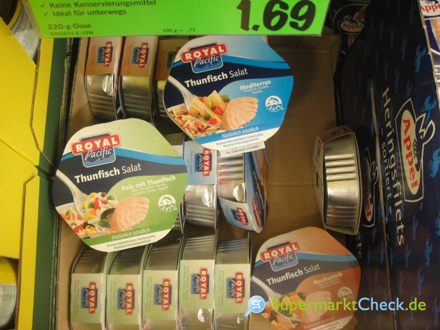 Foto von Royal Pacific / Lidl Thunfisch Salat
