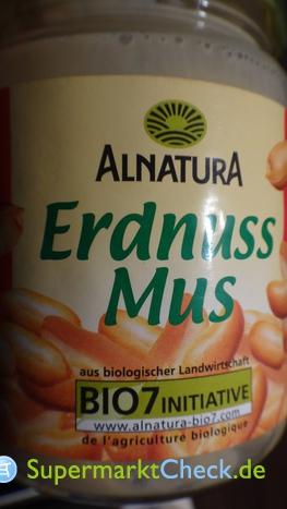 Foto von Alnatura Erdnuss Mus