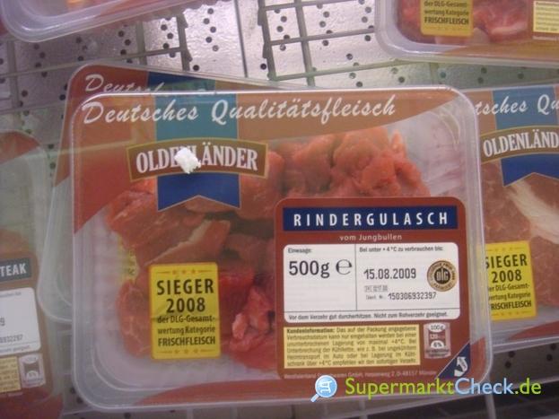 Foto von Oldenländer Rindergulasch