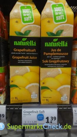 Foto von Naturella Direktsaft Grapefruit