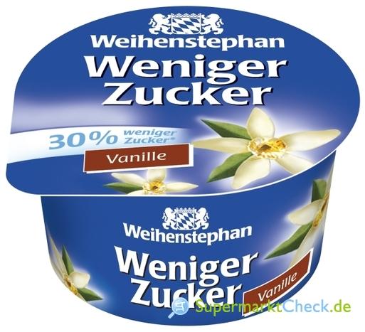Foto von Weihenstephan weniger Zucker Fruchtjoghurt