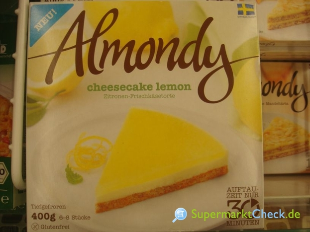 Foto von Almondy Orginal Schwedische Torte