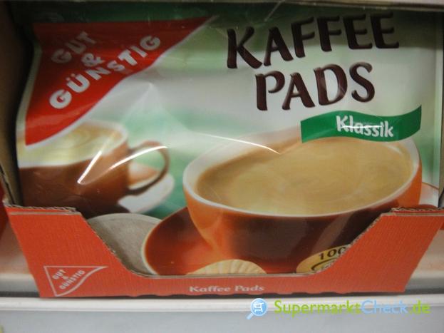 Foto von Gut & Günstig Kaffee Pads