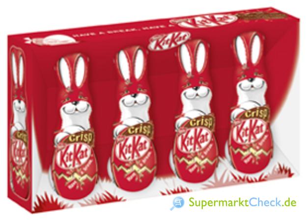 Foto von Nestle Kit Kat Osterhasen