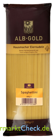 Foto von Alb Gold Spaghettini