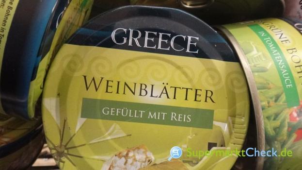 Foto von Greece Weinblätter