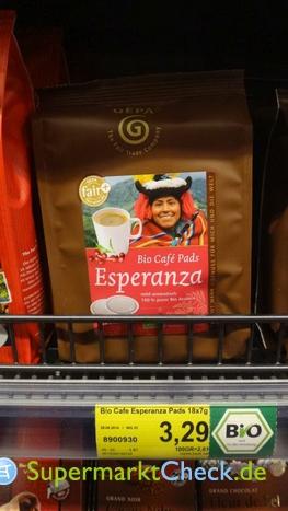 Foto von Gepa Bio Cafe Esperanza Pads