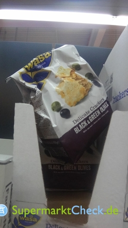 Foto von Wasa Delicate Crackers