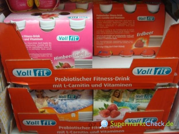 Foto von Voll fit Light Probiotischer Joghurtdrink