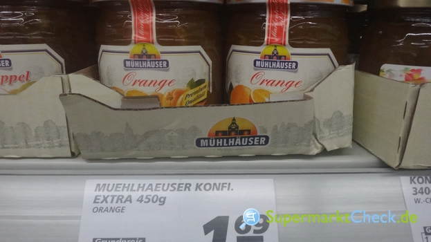 Foto von Mühlhäuser Extra-Konfitüre