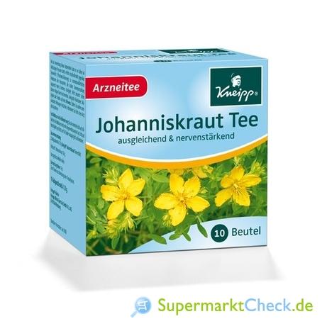 Foto von Kneipp Johanniskraut Tee