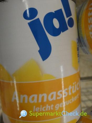 Foto von Ja! Ananas Stücke
