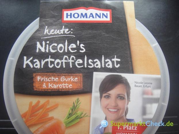 Foto von Homann heute Nicoles Kartoffelsalat