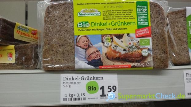 Foto von Mestemacher  Bio Dinkel + Grünkern