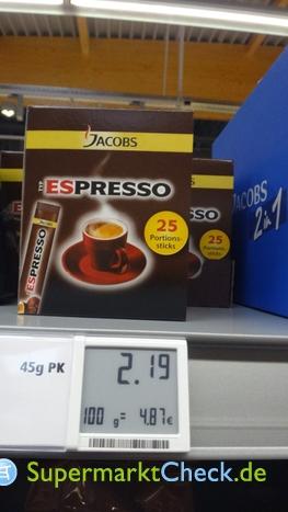 Foto von Jacobs Espresso Sticks