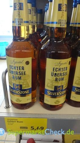 Foto von Silverstone Aldi Echter Übersee Rum