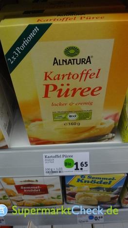 Foto von Alnatura Kartoffel Püree