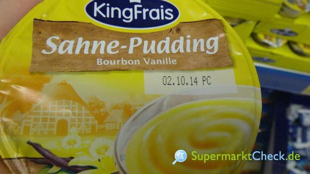 Foto von King Frais Sahne Pudding