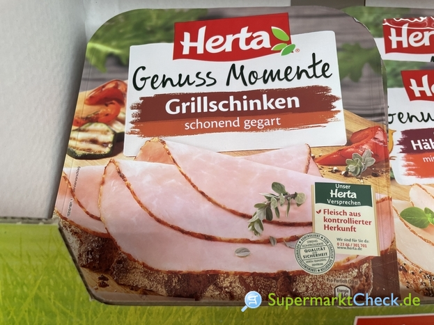 Foto von Herta Genuss Momente Grillschinken