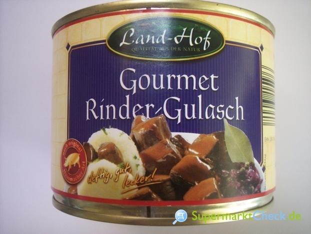 Foto von Land-Hof Gourmet Rinder Gulasch