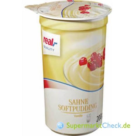 Foto von real Quality Sahne Softpudding