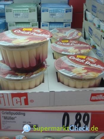Foto von Müller Grieß Pudding