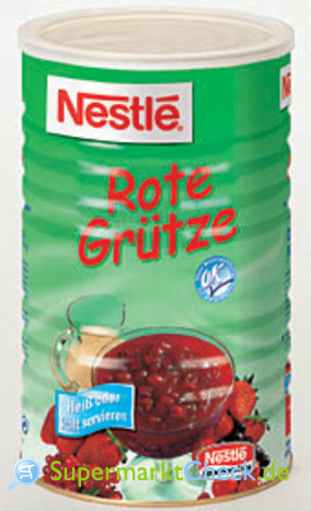 Foto von Nestle Rote Grütze