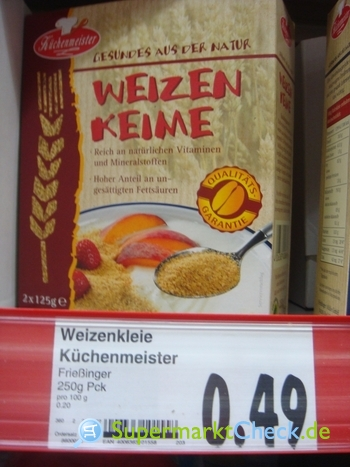 Foto von Küchenmeister Weizen Keime
