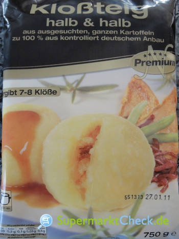 Foto von Premium Kloßteig
