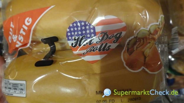 Foto von Gut & günstig Hot Dog Rolls