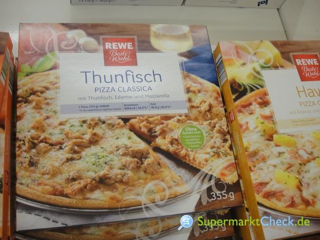 Foto von REWE Beste Wahl Thunfisch Pizza Classica