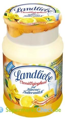 Foto von Landliebe Vanillejoghurt auf Frucht
